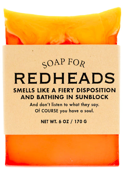 Soap for Redheads - NEW!