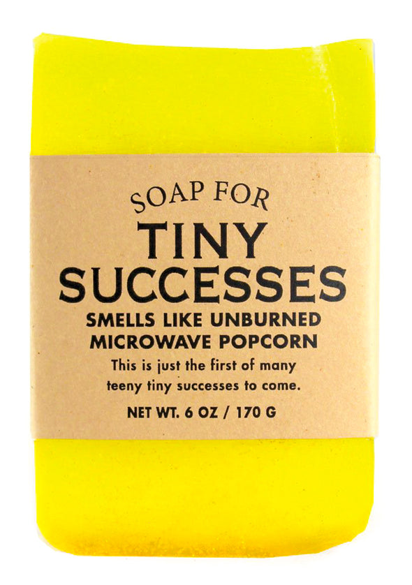 Soap for Tiny Successes