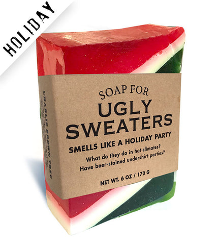 Soap for Ugly Sweaters - HOLIDAY