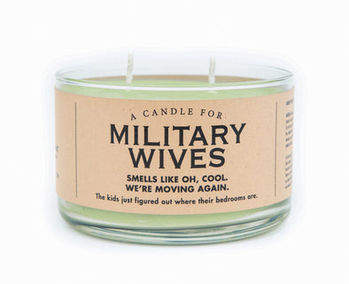 A Candle for Military Wives - NEW!