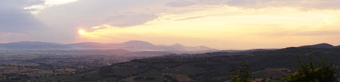 sunset in Assisi - picture renskeversluijs