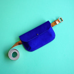 Renske Versluijs - leather belt with bag