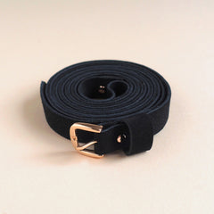 Renske Versluijs - double belt BIO black