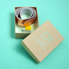Renske Versluijs - leather straps box