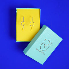 silver earrings - Renske Versluijs