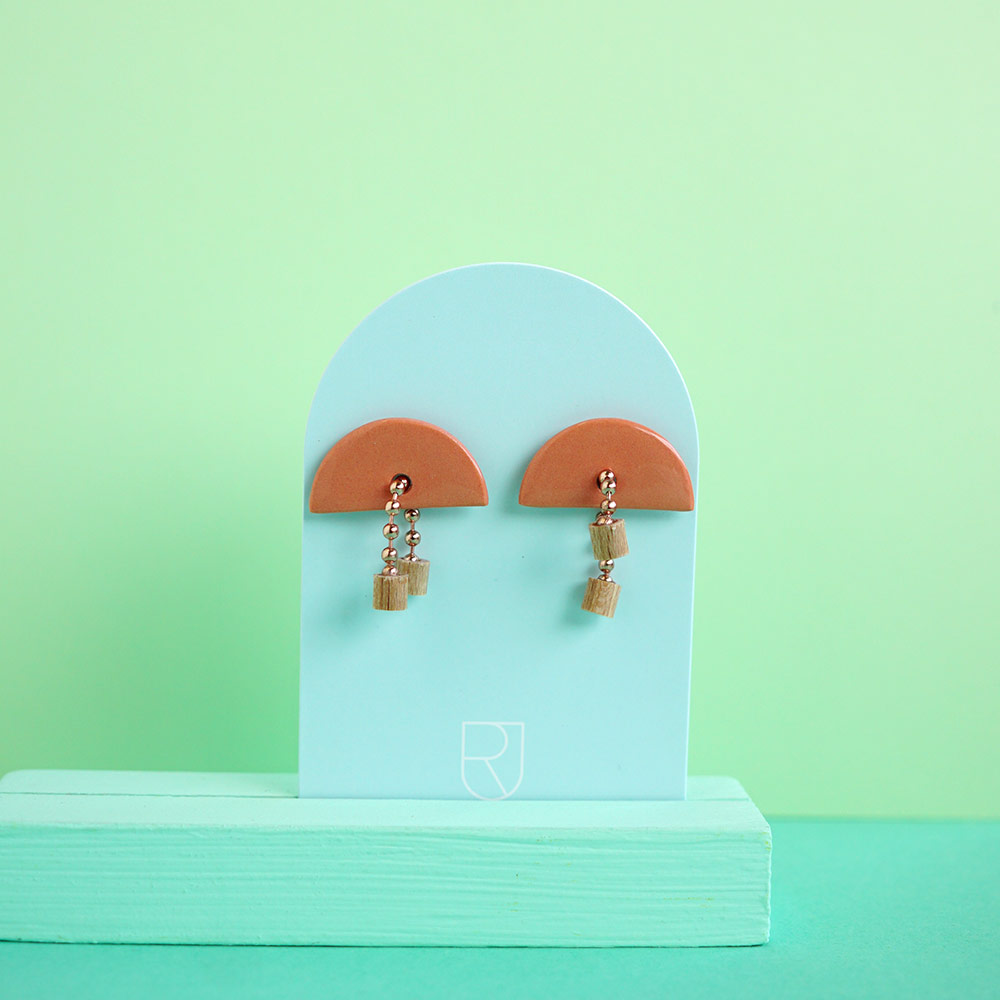 porcelain earrings - Renske Versluijs