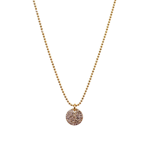 Single Stardust Necklace in Gold