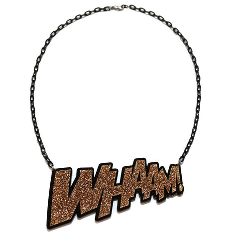 Gold Whaam! Necklace