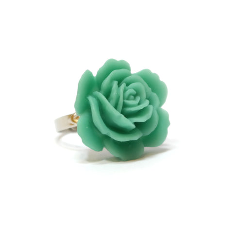Periwinkle Rose Ring