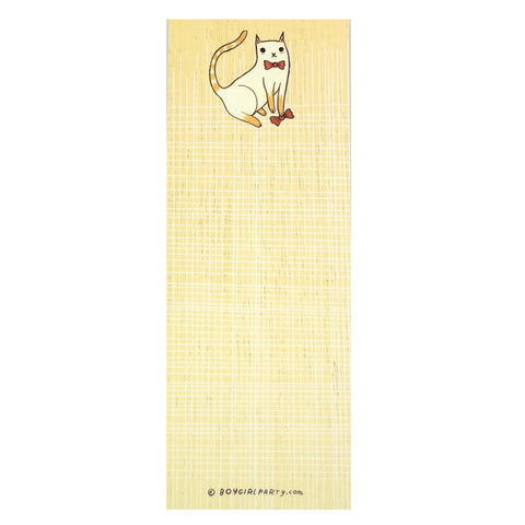 Bowtie Cat Memo Notebook