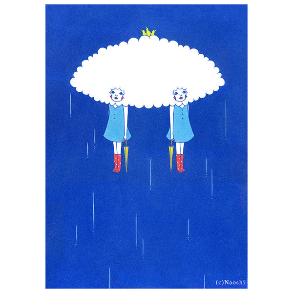 Shelter From The Rain Print