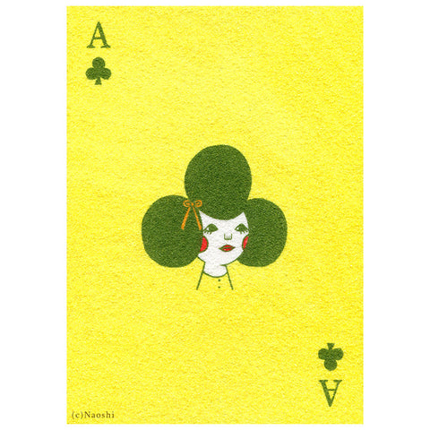 Ace Of Clubs Print