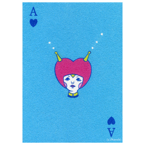 Ace Of Hearts Print