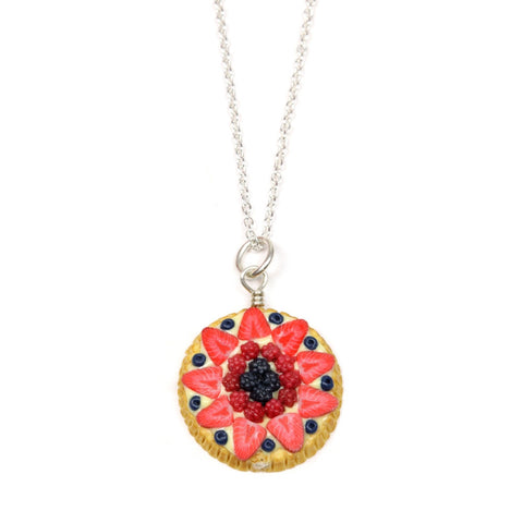 Berries Fruit Tart Necklace