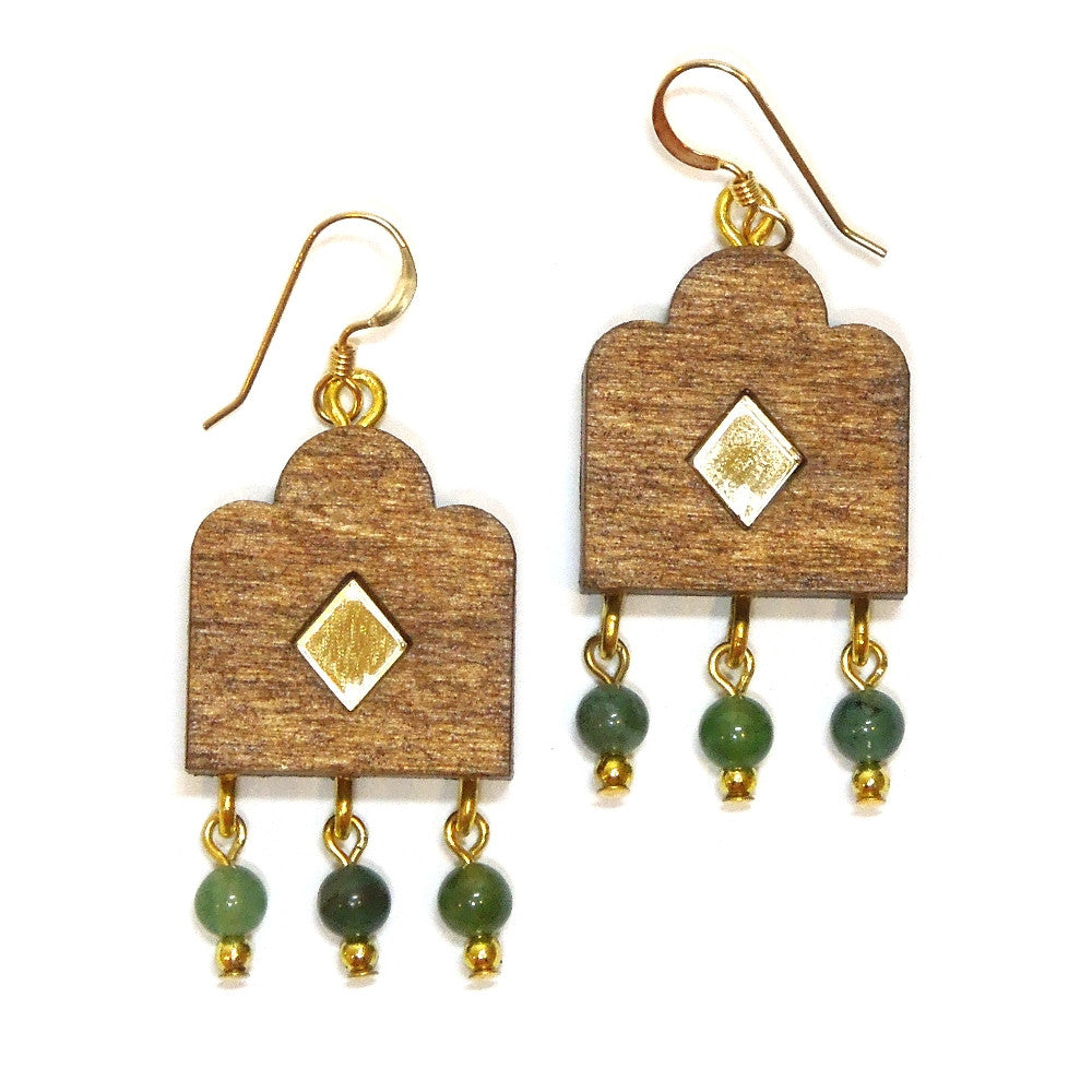 Garden Window Earrings
