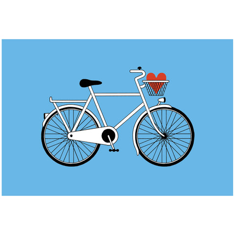 Love Cycling Print