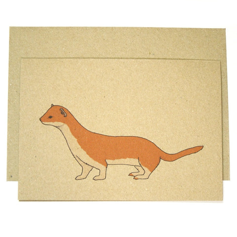 Stoat Card