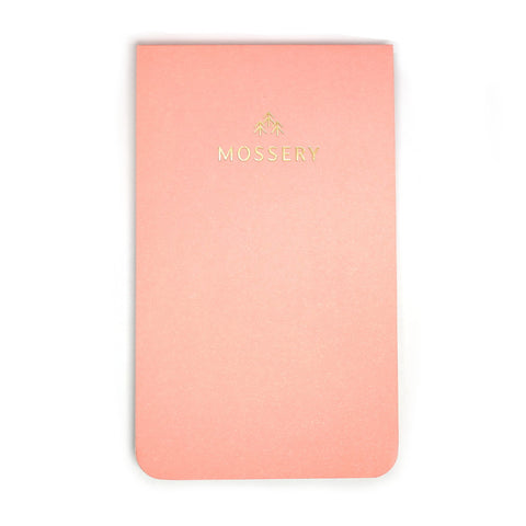 Top Bound Coral Pink Notebook