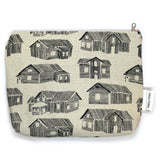 Houses Cosmetic Bag