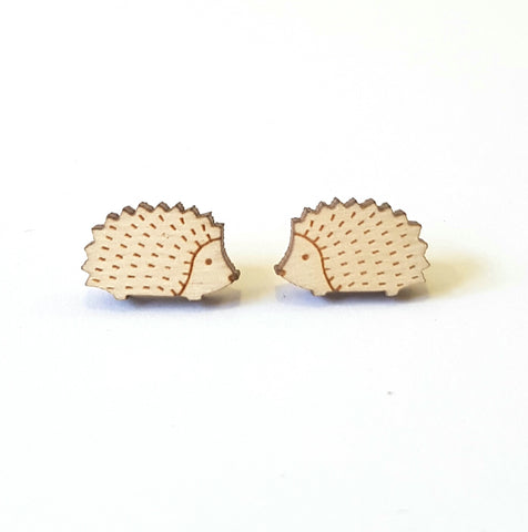 Woodland Hedgehog Earrings