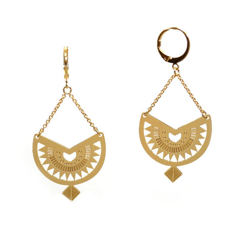 Mawu Earrings in Gold