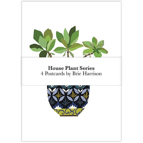 House Plant Postcard Set