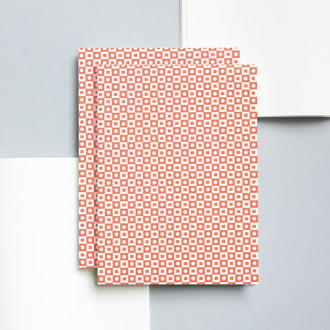 A5 Layflat Notebook in Red Porto