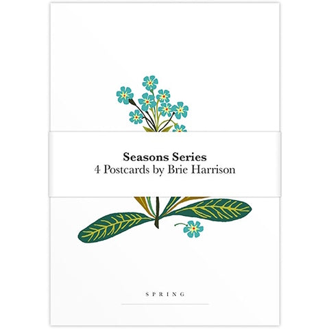 Four Seasons Postcard Set - Cover