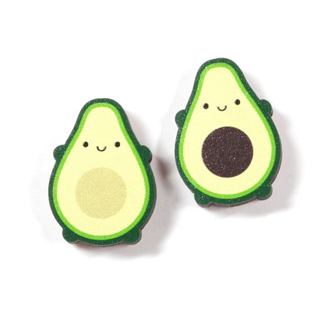 Avocado Best Friends Wooden Pin Set