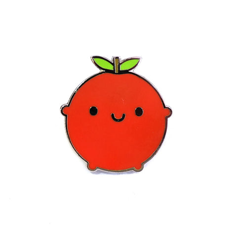 Happy Apple Cute Kawaii Enamel Pin Badge