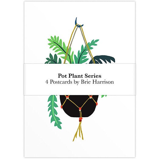 Pot Plant Postcard Set - Cover