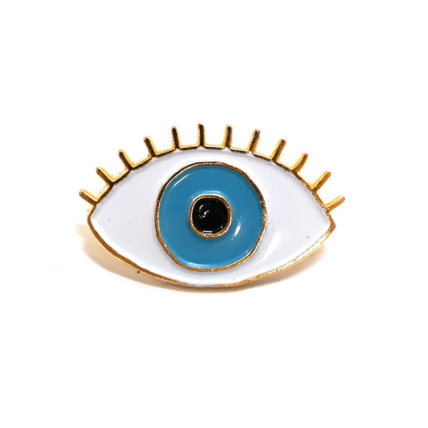 Coucou Suzette Blue Eye Enamel Pin