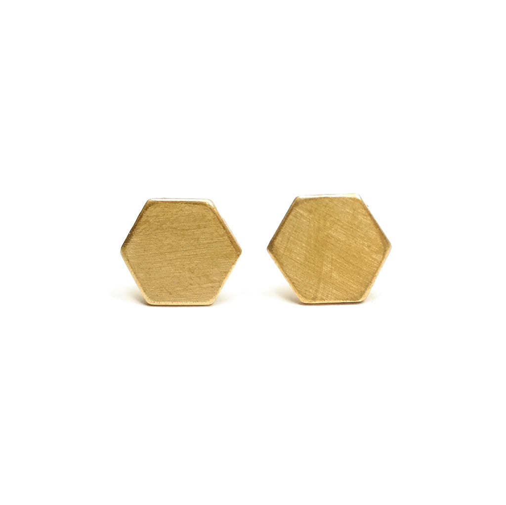 f19e2fabc Hexagon Stud Earrings – Hannah Zakari