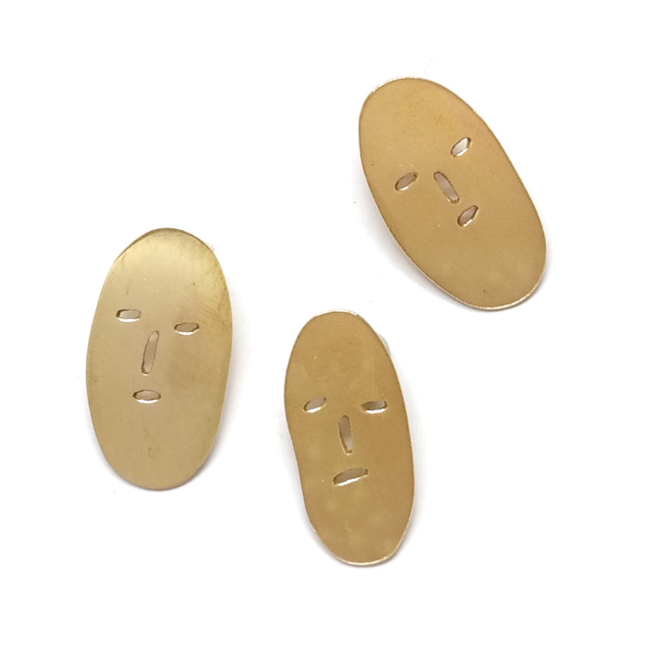 Selection of Classic Grumps Brass Pins
