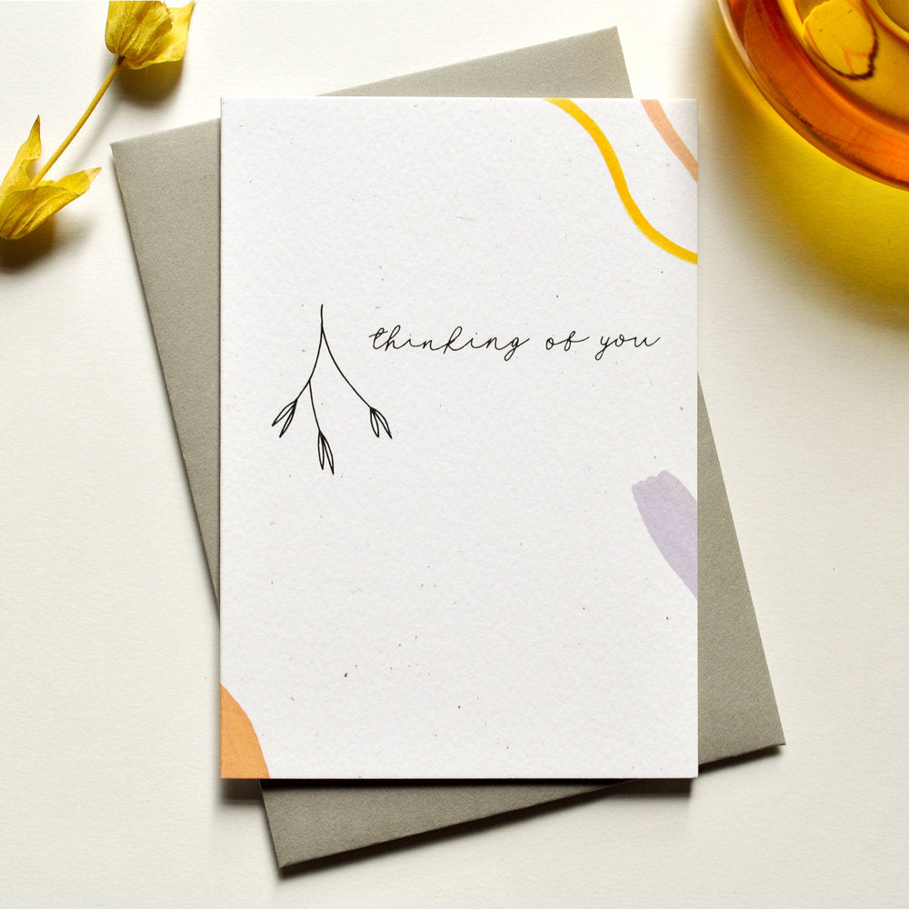Thinking of You Illustrated Card