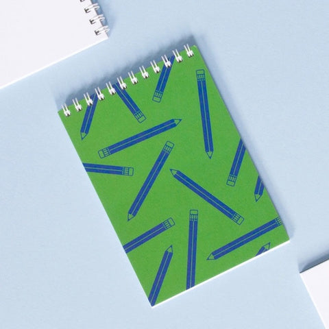 Pencil Print Pocket Notebook