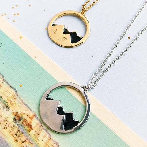 Twin Peaks Necklace