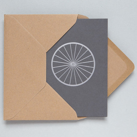 Bicycle Foil Card in Grey and Silver