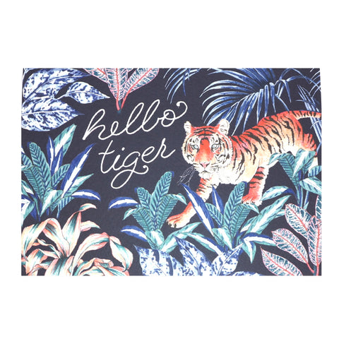 Hello Tiger Card