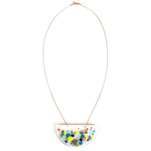 SPARK Mini Curve Necklace Full Length