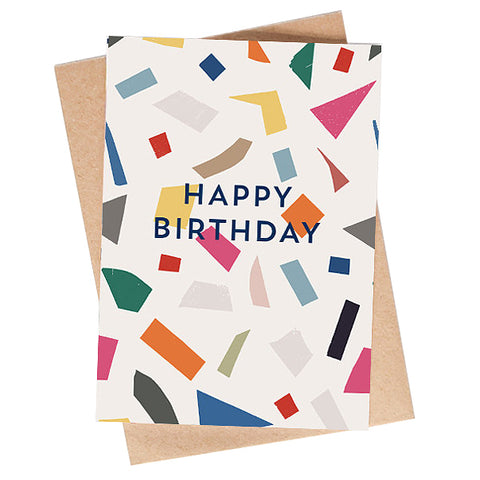 Party Pattern Birthday Card