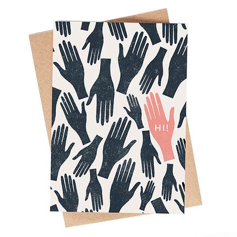 Hi Hand Pattern Card