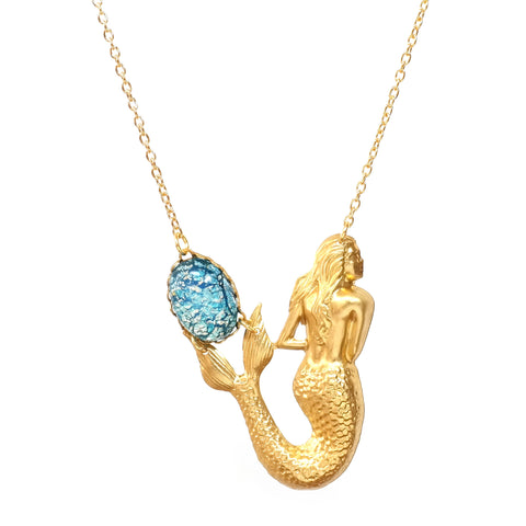 Maiden Voyage Mermaid Necklace