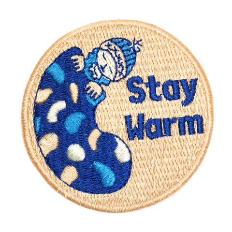 Stay Warm Iron-On Patch