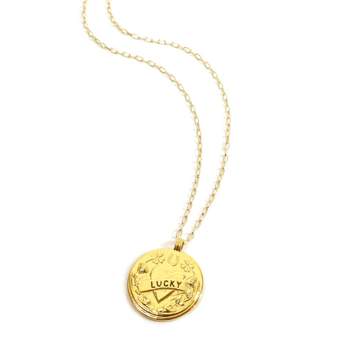 Mood Good Luck and Love Charm Necklace