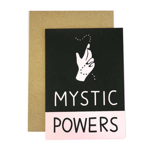 Mystic Powers Card