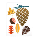 Autumn Illustrated Mini Card