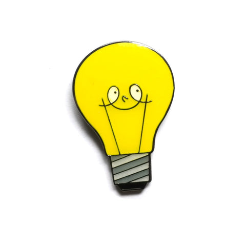 Bright Idea Enamel Pin