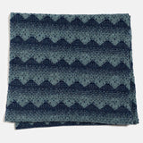 Sanna Circle Scarf in Caspian and Navy