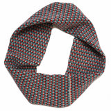 lambswool circle scarf apple basket style weave